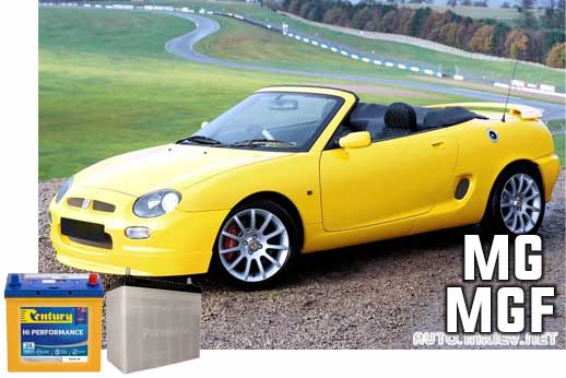 Replacement car battery for MG in Sydney and Melbourne