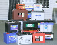 Huge range of deep cycle batteries