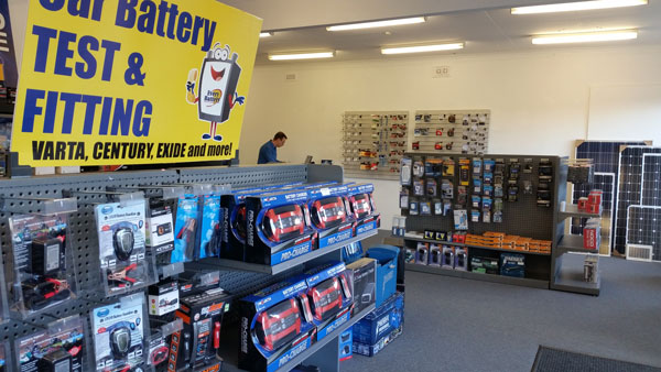 Wide range of battery chargers
