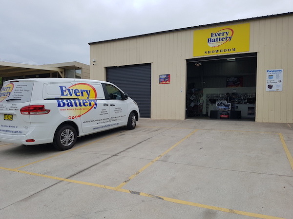 Every Battery Merrylands NSW store