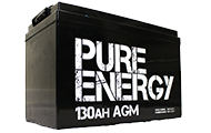 Pure Energy AGM Batteries