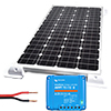 100W Solar Kit including Panel, Regulator, Mounts and Cable