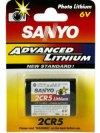 Sanyo 2CR5 6V Photo Lithium Battery