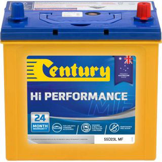 Century Automotive Car Battery 55D23L