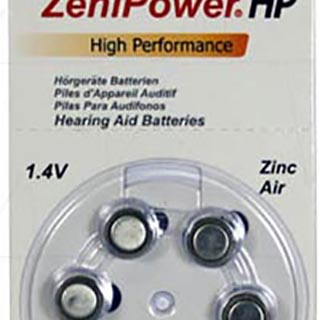 Zenipower A13 Hearing Aid Button Cell Aid Batteries (Pack of 6)