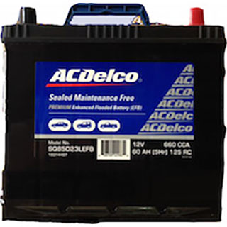 AC Delco SQ85D23LEFB Start/Stop Car Battery