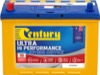 Century Automotive Car Battery N70ZZHX Ultra Hi Performance