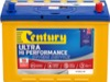 Century Automotive Car Battery N70ZZLHX Ultra Hi Performance
