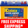 Century Automotive Car Battery N70ZZLXHD Overlander