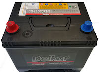Delkor Start/Stop Car Battery SQ85D23REFB