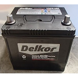 Delkor DIN56077 Auto Battery