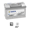 Varta Car Battery E38 'Silver' (574 402 075)