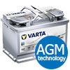 Varta AGM Car Battery E39 (570 901 076)