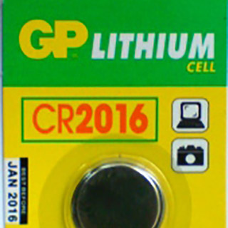 GP CR2016 Lithium 3V Coin Cell