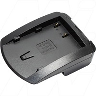 DCC1 Charger Adaptor Plate for Fujifilm NP-150, Nikon EN-EL3, EN-EL3e Battery