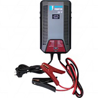 Battery Fighter BCA2602 Selectable 3000mA/6000mA output Fully Automatic Battery Charger Lead Acid (24V)