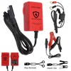 Enecharger ICS1 Battery Guardian - 6V / 12V 1.0A 7 Step Fully Automatic Charger