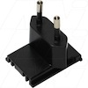 Input Plug (Europe) for Universal AC to DC Power Supply FRA-024-S24-I
