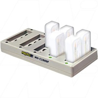 10 bank automatic 9V NiMH Battery Charger