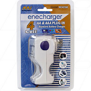 Enecharger mains NiCd & NiMH battery charger