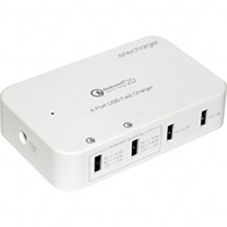 Qualcomm Quick Charge 2.0 4-Port AC-DC input USB Fast Charger for phones and tablets