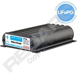 Redarc 12V 25A LiFePO4 Lithium Battery Charger