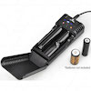 World Voltage / 12VDC input 1-2 cell lithium ion battery charger
