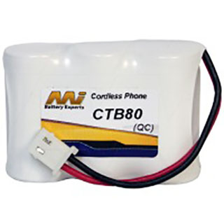 Cordless Telephone Battery for Audioline CDL200