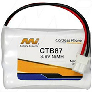 Cordless Phone/Baby Monitor Battery - CTB87