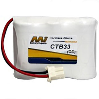 Cordless Telephone Battery for Akai CP161AUS
