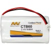 Cordless Telephone Battery for Panasonic KX-TG2650