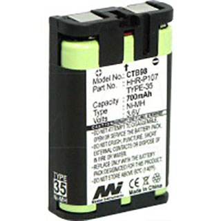 Cordless Telephone Battery for Panasonic BB-GT1500