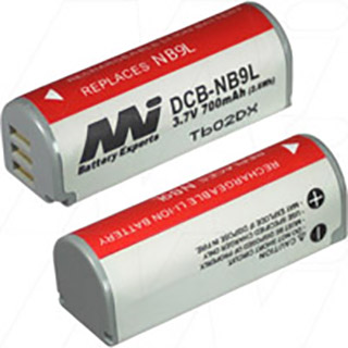 Canon NB-9L Camera Battery