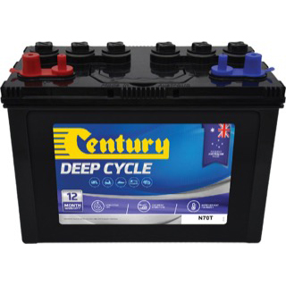Century Deep Cycle Flooded Battery N70T 100Ah