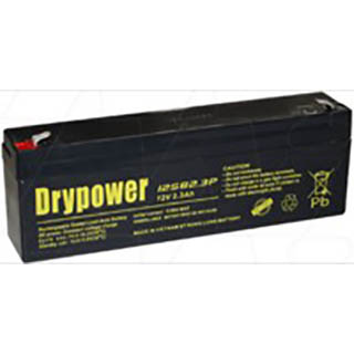 12SB2.3P Drypower 12V 2.3Ah SLA Battery