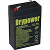 Drypower 6Volt 2.8Ah Sealed Lead Acid