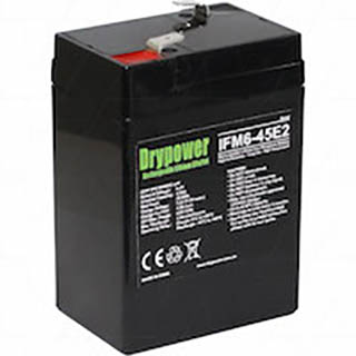 Drypower 6.4V 4.5Ah Lithium Iron Phosphate Rechargeable Battery
