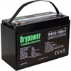 Drypower 12.8V 100Ah Lithium Iron Phosphate (LiFePO4) Rechargeable Lithium Battery
