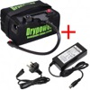Drypower 12.8V 16Ah LiFePO4 Rechargeable Lithium Golf Buggy Battery & Charger Kit