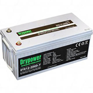 Buy Drypower 12 8v 200ah Lithium Iron Phosphate