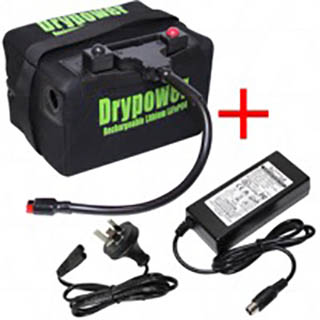 Drypower 12.8V 22Ah Lithium Iron Phosphate (LiFePO4) Rechargeable Lithium Golf Buggy Battery