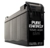Pure Energy 105Ah Slim 12V AGM