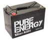 Pure Energy 12V 105Ah AGM Deep Cycle Battery