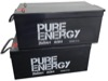 Set of 2 Pure Energy 12V 260Ah AGM Deep Cycle Battery