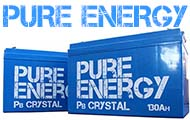Pure Energy Pb Crystal Batteries