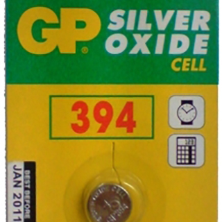 GP 394 Coin Cell Battery