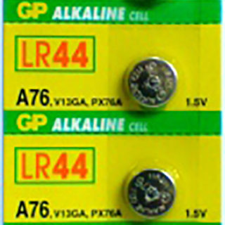GP 76A LR44 Alkaline Button Cell (pack of 5)