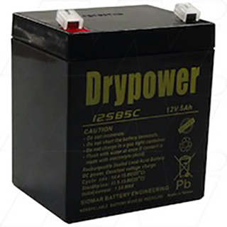 Drypower 12V 5Ah Sealed Lead Acid Battery