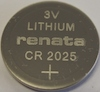 CR2025 Lithium 3V Coin Cell