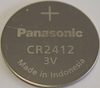 CR2412 Lithium 3V Coin Cell